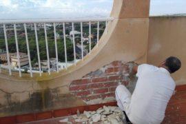 Reparación de edificio en Campoamor