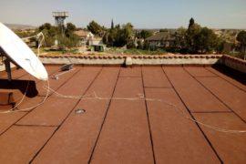 Impermeabilización de terraza en El Valle del Sol
